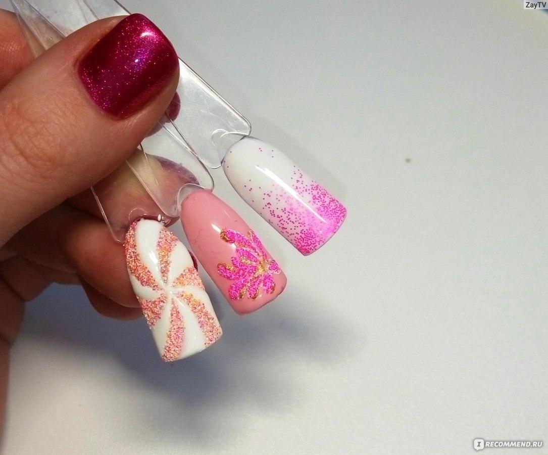 Как сделать мармеладные ногти
