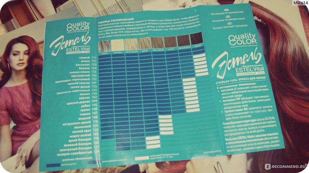 """Краска для волос Estel Quality color - """" Окрашивание волос краской за 38 рублей. Что же получится? Смотрим ------ + Много фото!!"""