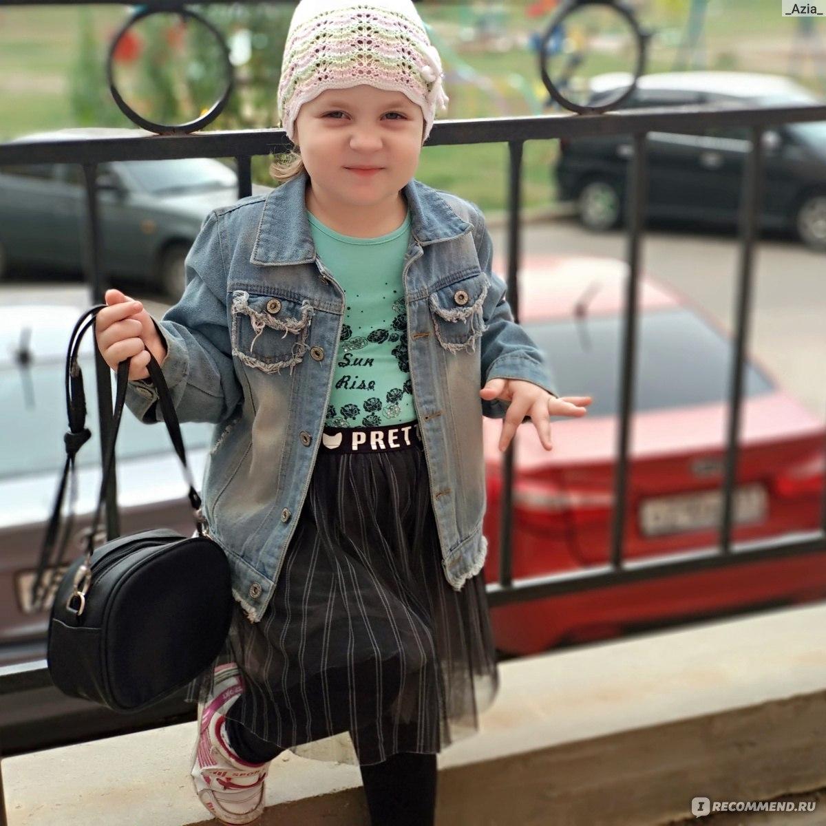 3c12d93d7 Джинсовая куртка AliExpress детская 1-12Yrs Baby Girls Hole Denim ...