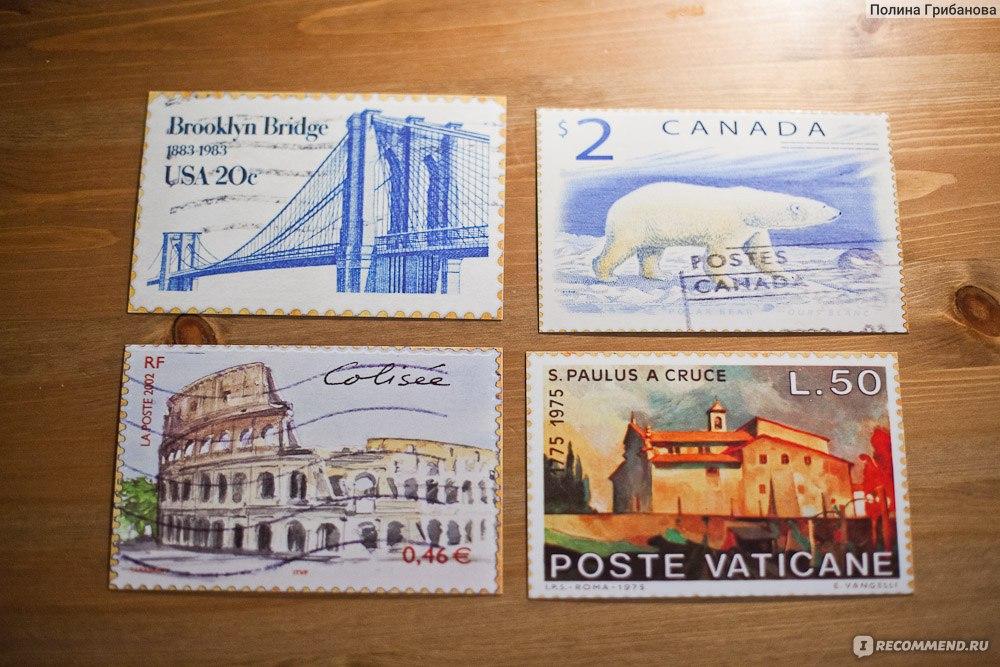 открытки для посткроссинга набор адреса