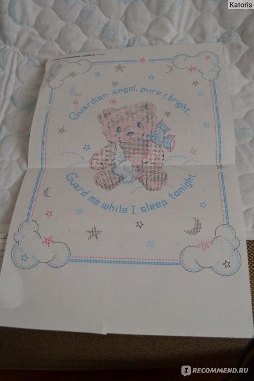 вышивания детского одеяла