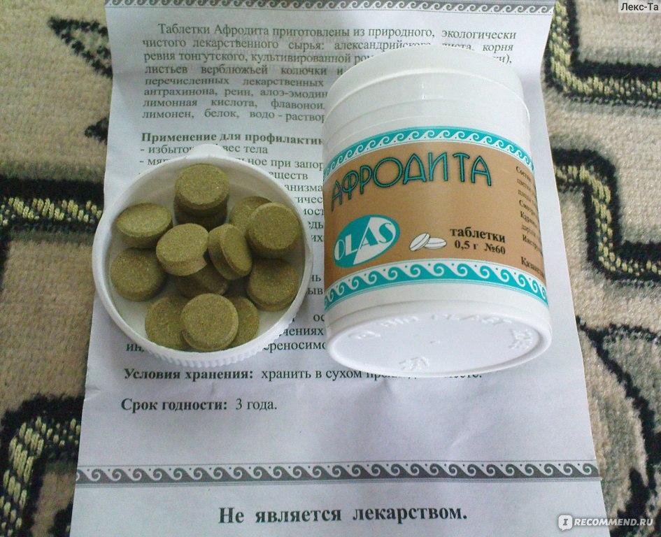 Таблетки афродита инструкция