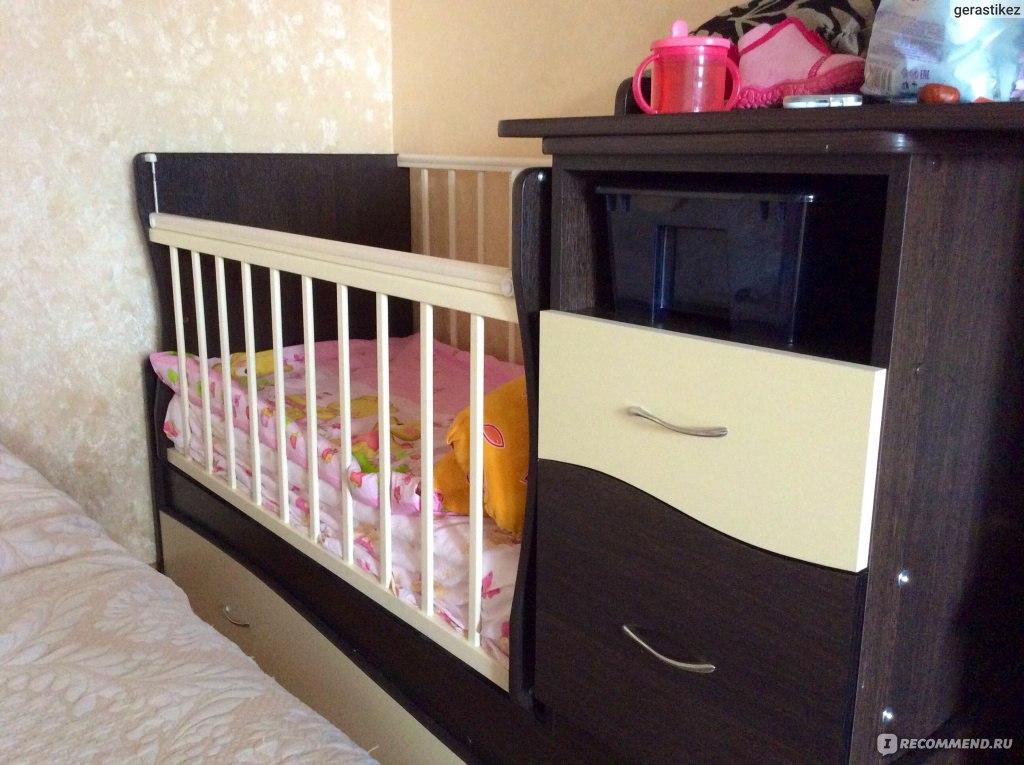 Схема сборки кроватки чунга чанга 744
