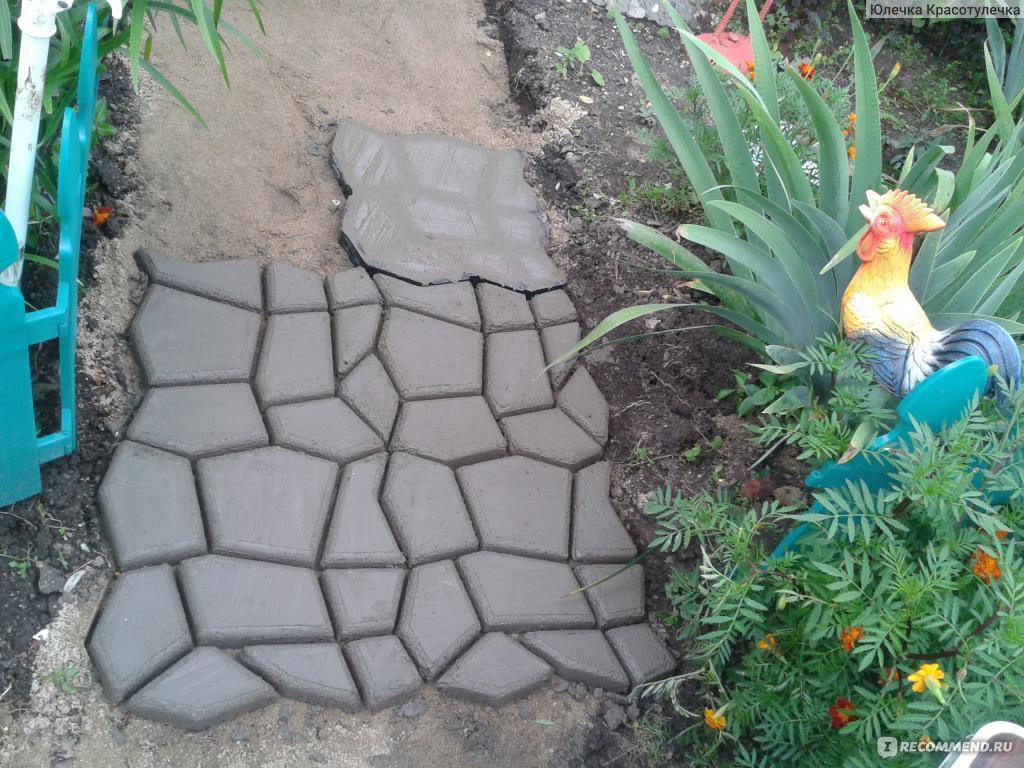 Украшение садовых дорожек своими руками 99
