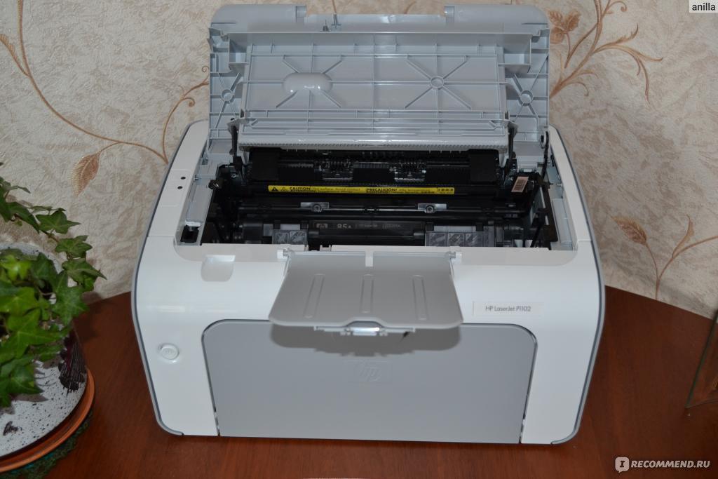 Ремонт HP LJ P1102: разборка, захват бумаги, выключается