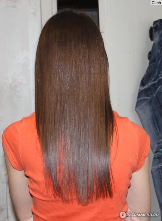 концы волос тонкие