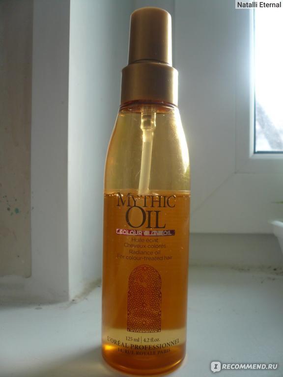 масло лореаль для волос mythic oil