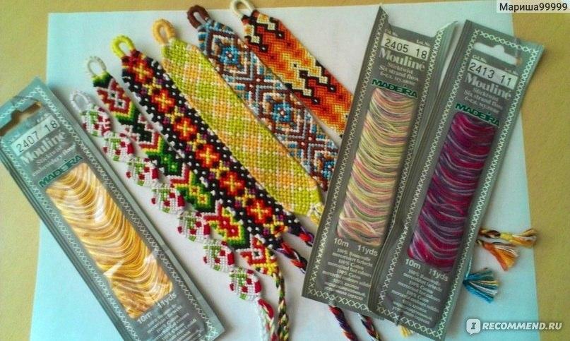 Плетение фенечек-не очень