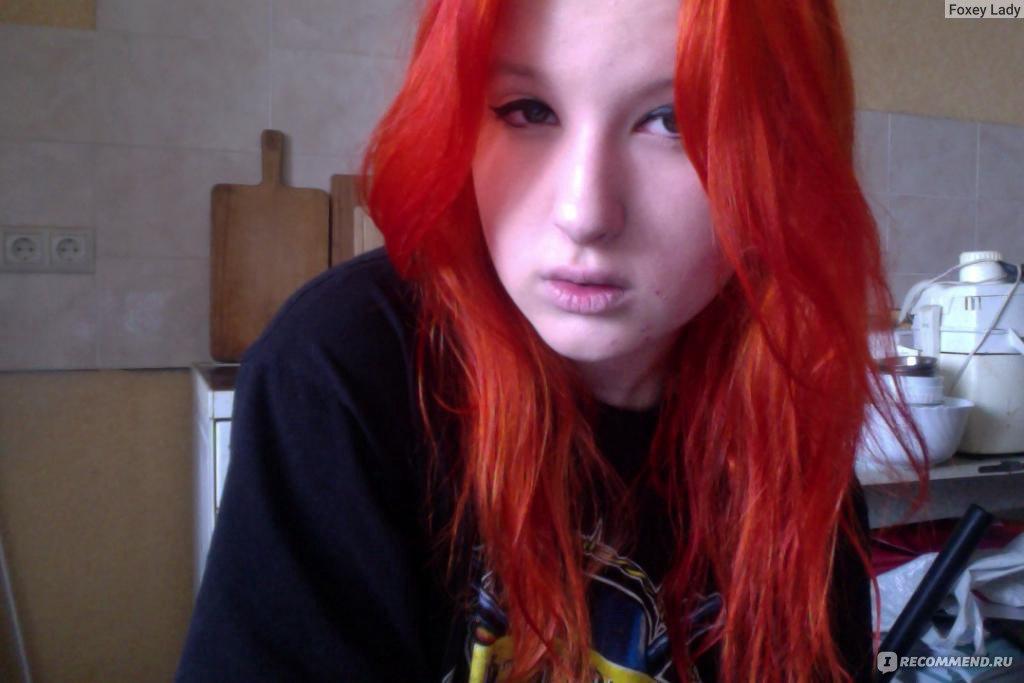 Как сделать рыжий тоник для волос