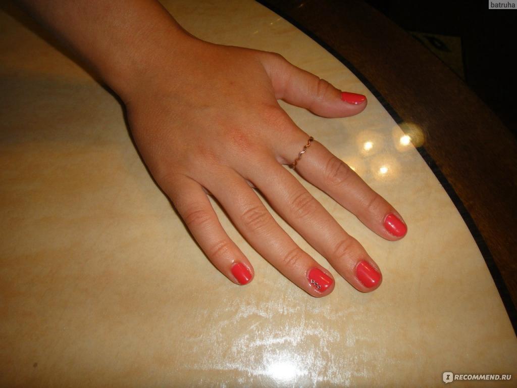 Окрашивание ногтевой пластины