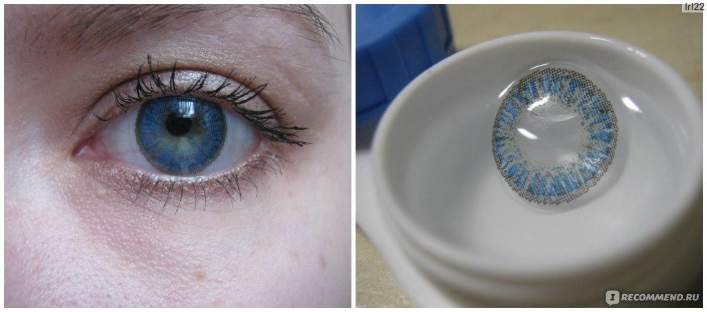Цветные линзы для глаз волжский
