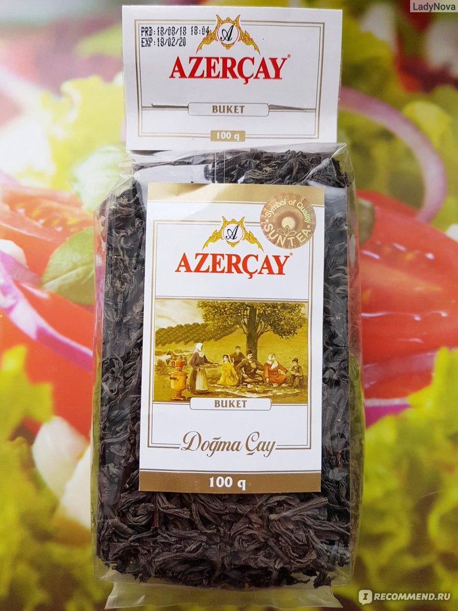 чай листовой азерчай