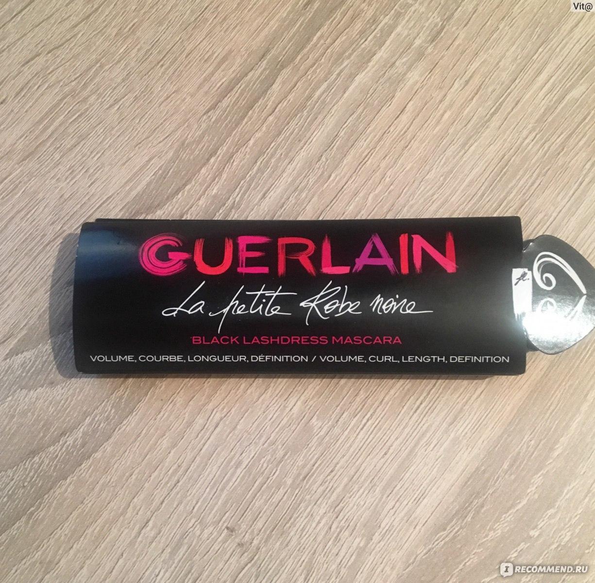a7812fdda43 Тушь для ресниц Guerlain La Petite Robe Noire Mascara - «Тушь для ...