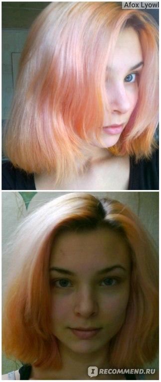 Окрашивание волос фукорцином