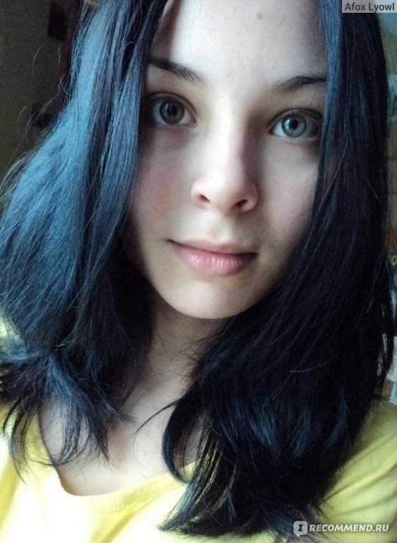 Мелирование на чёрные волосы - как выглядит и как сделать