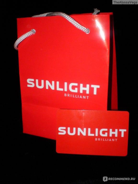 упаковка sunlight