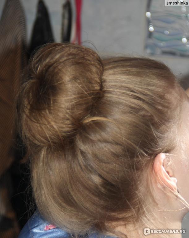 Как сделать куксу из волос фото