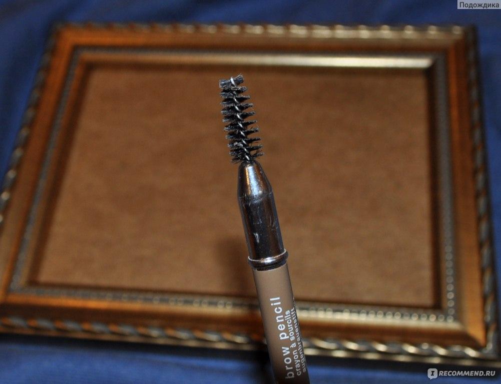 Восковой карандаш для бровей мейбелин