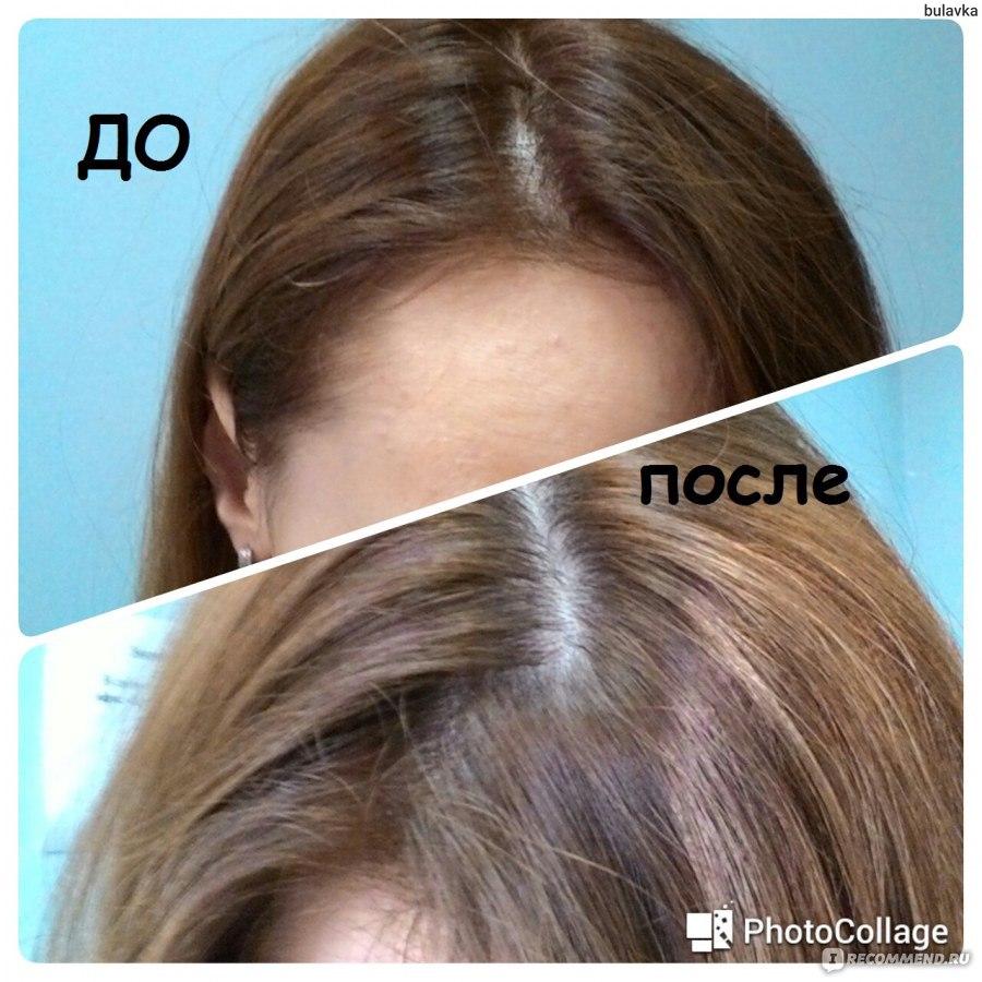 Смывка цвета волос кефиром до и после