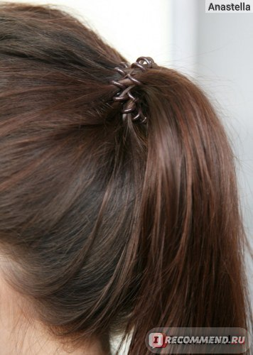 Какие резинки не портят волосы