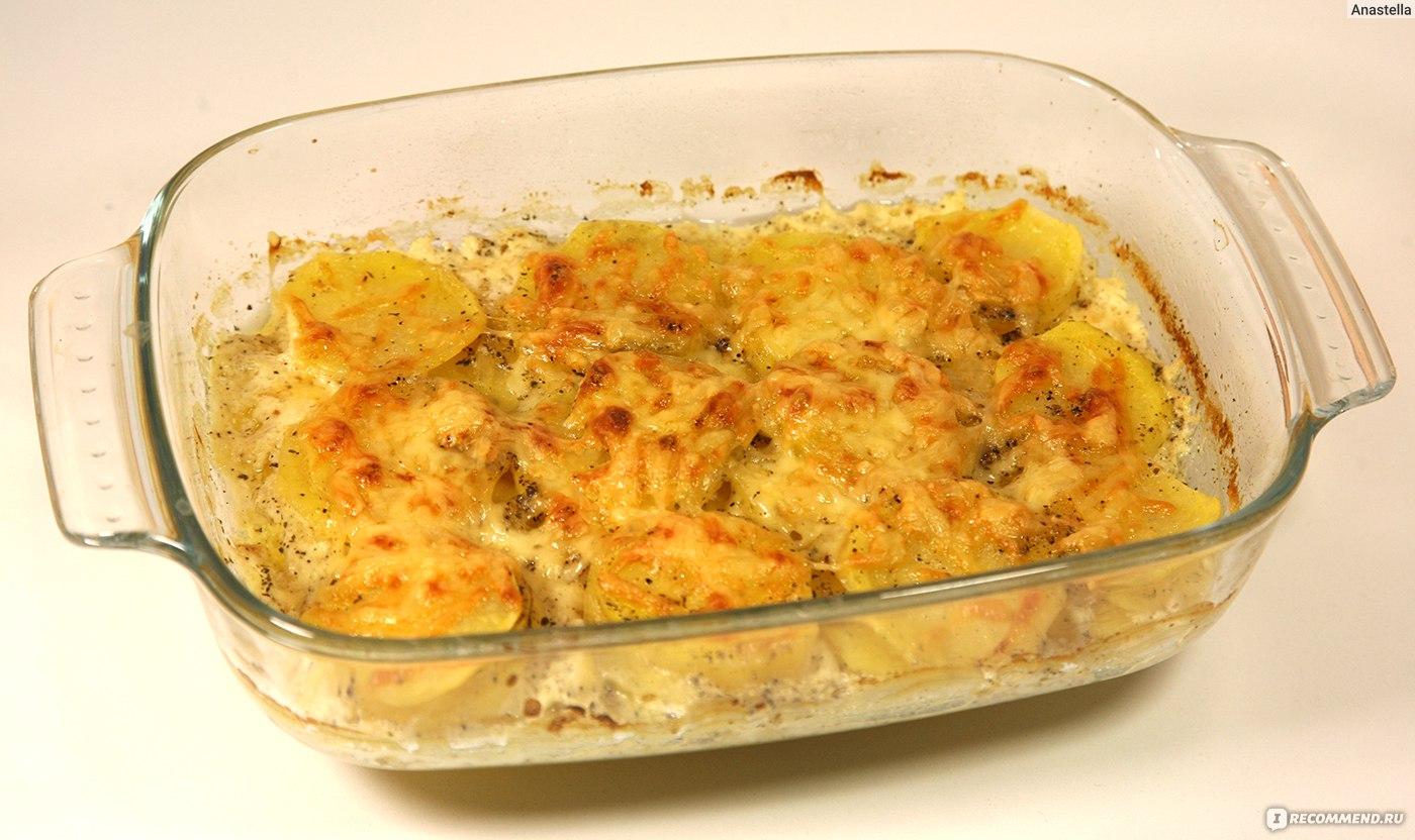 Гратен из картофеля классический рецепт с фото пошагово, как 91