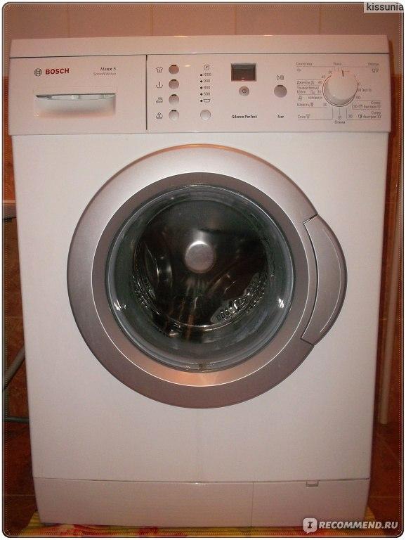Ремонт стиральной машины бош макс 6