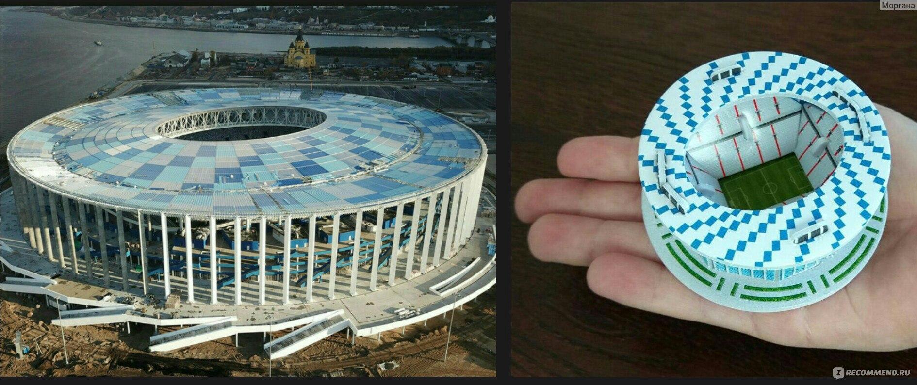 9efb8116e737 3D пазл Стадионы городов-организаторов - «3 слишним года строили ...