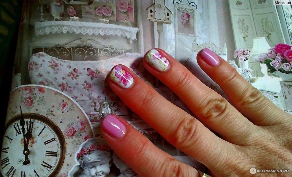 Как сделать наклейки на ногти под гель