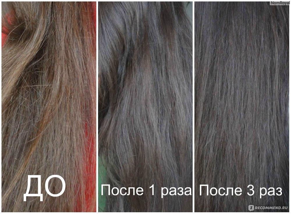 Как в домашних условиях смыть черную краску с волос отзывы 5