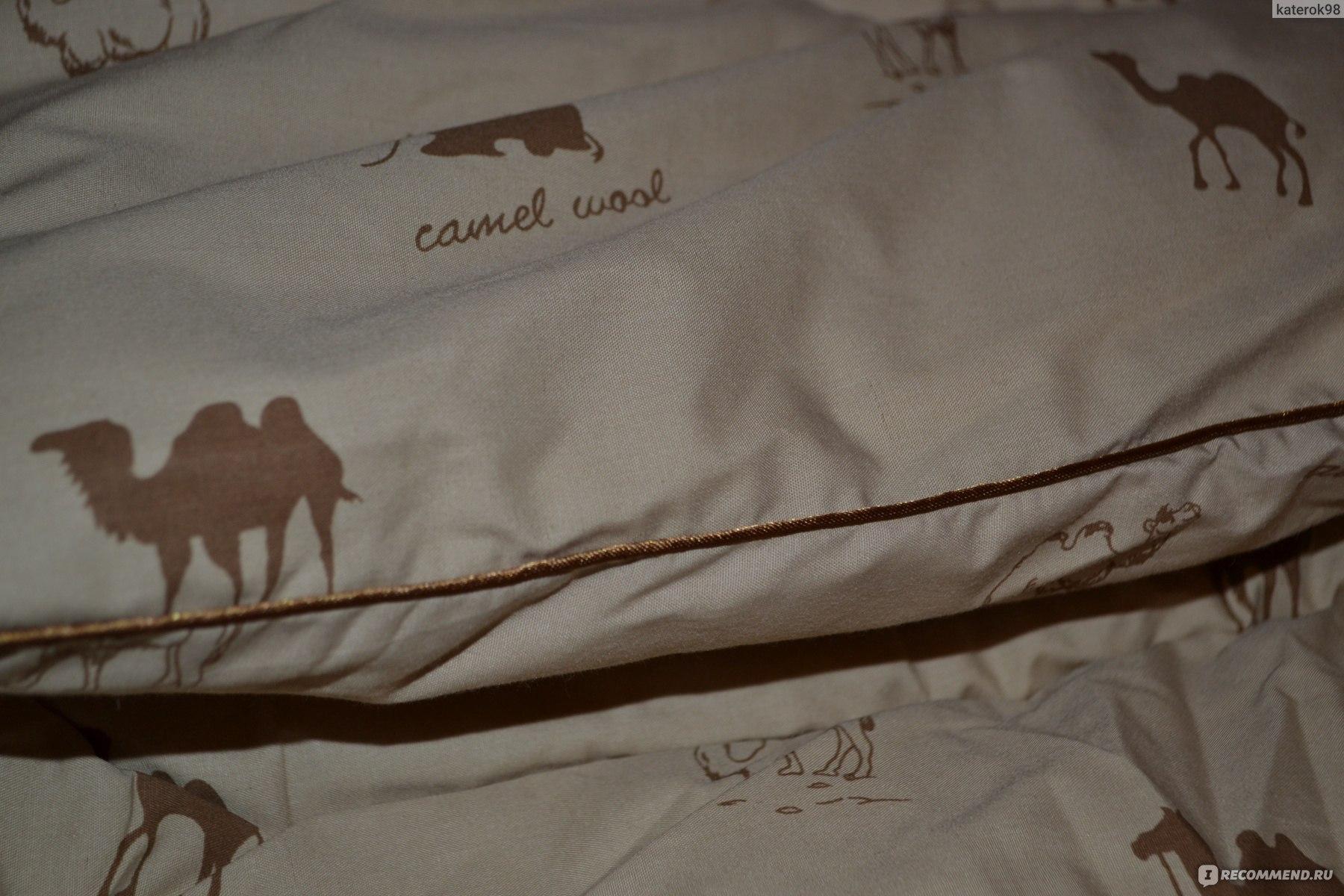 52fd15e60b37 Одеяло Верблюжья шерсть зимний вариант ТИК 100% хб FleurTex фото