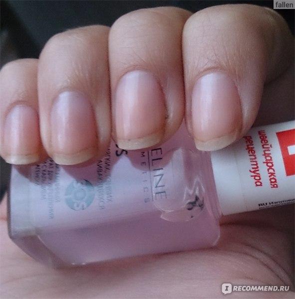 Eveline Sos Для Мягких Тонких И Расслаивающихся Ногтей Инструкция