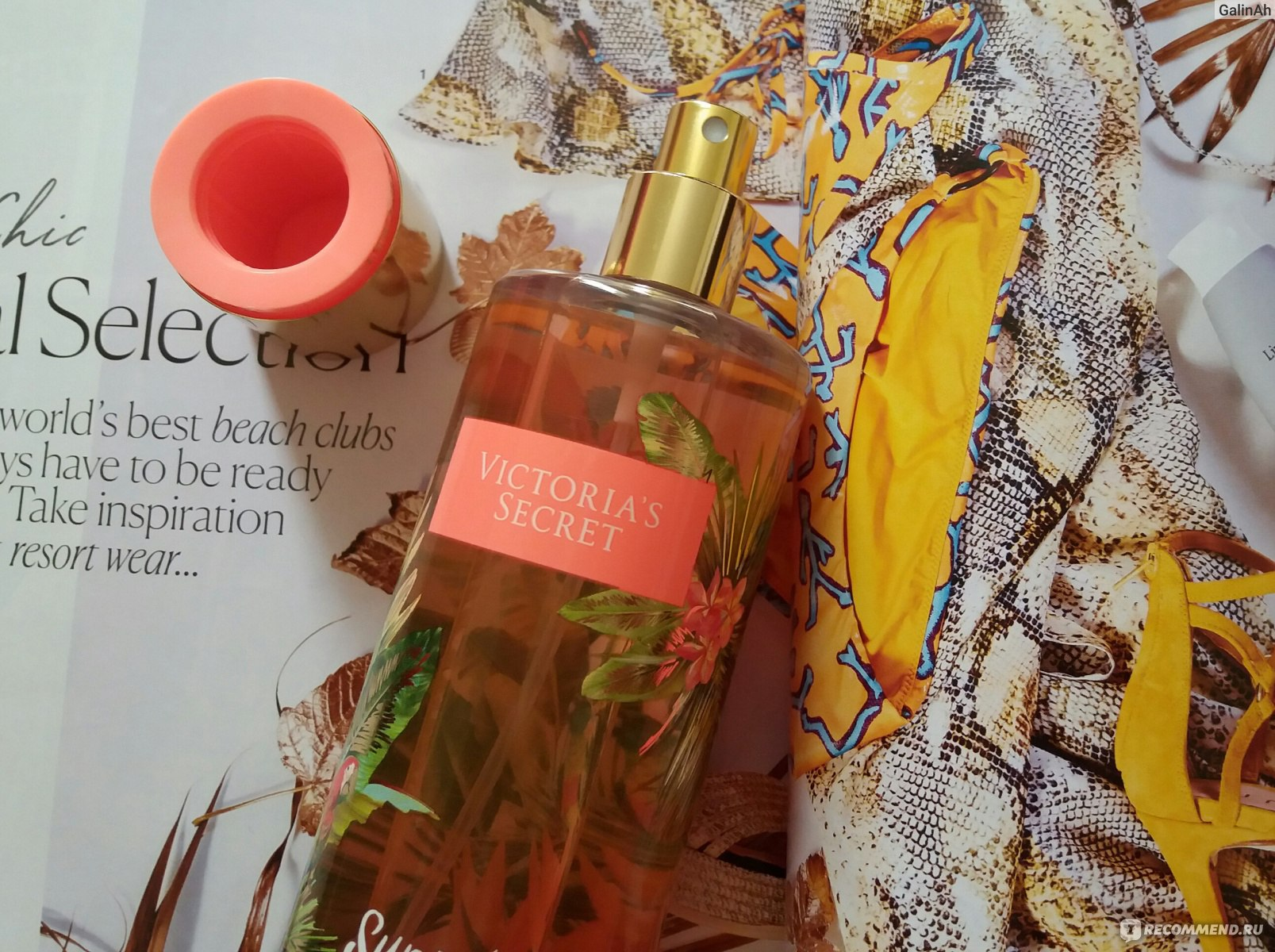 6c95fef47d Спрей для тела Victoria s Secret Sunset Crush - «Закат на ...