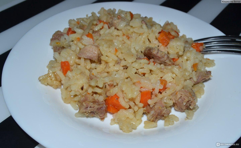 Плов с свининой и говядиной рецепт пошагово