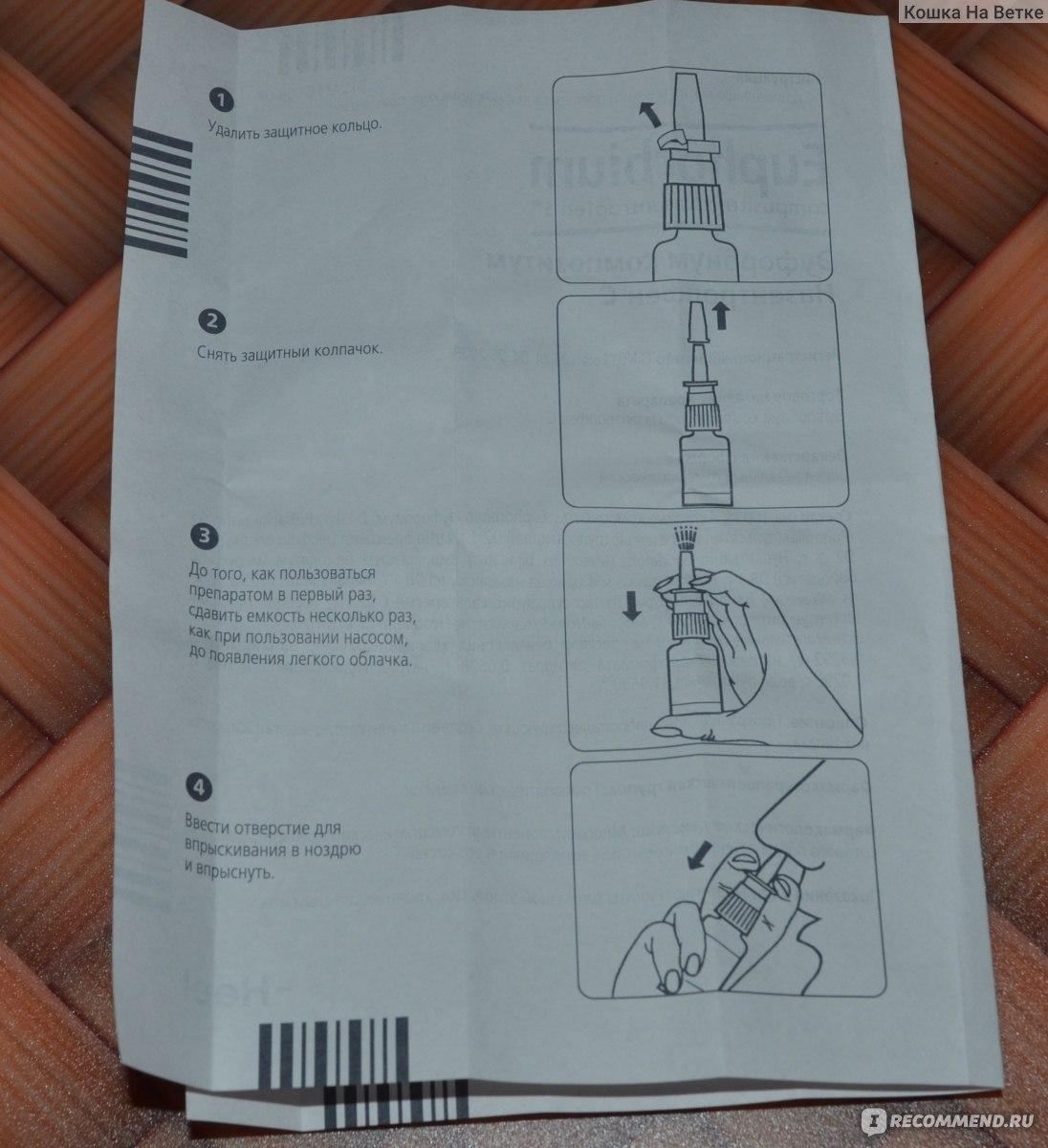 Эуфорбиум композитум инструкция для новорожденных