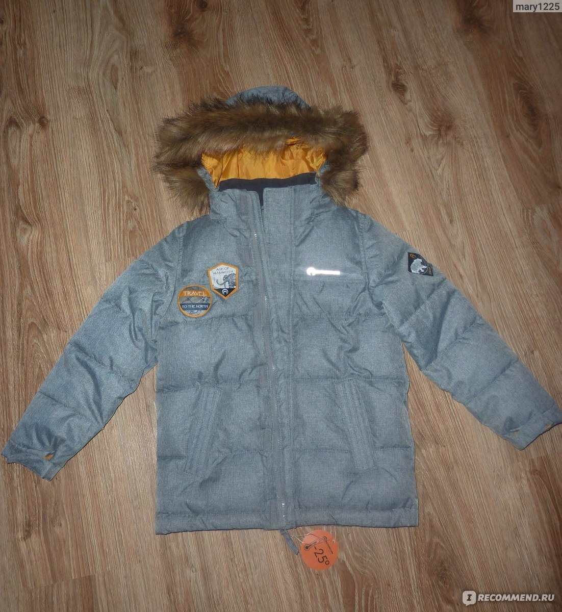 24b17e3fadaa6 Зимняя куртка Outventure UJAB182A12 - «Тёплая, лёгкая и стильная ...