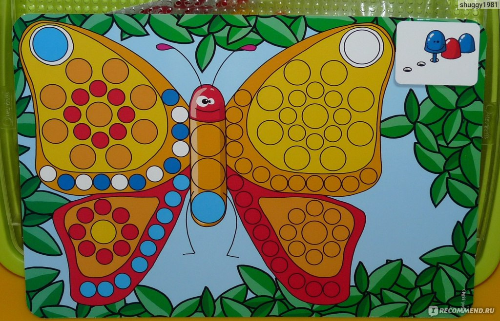 Мозаика фантастические цвета quercetti 0662 (400 деталей)