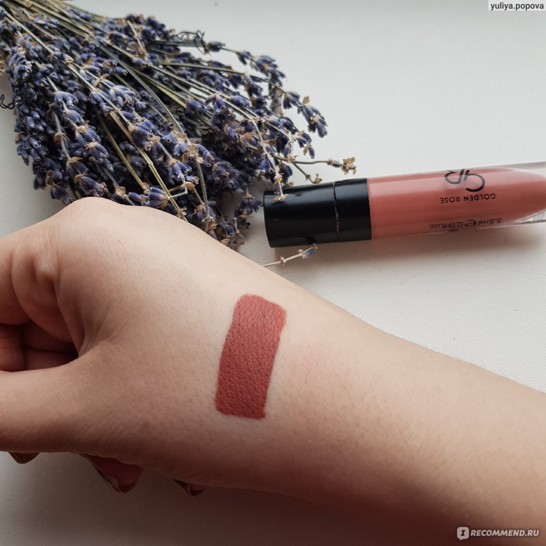жидкая матовая помада Golden Rose Longstay Liquid Matte Lipstick