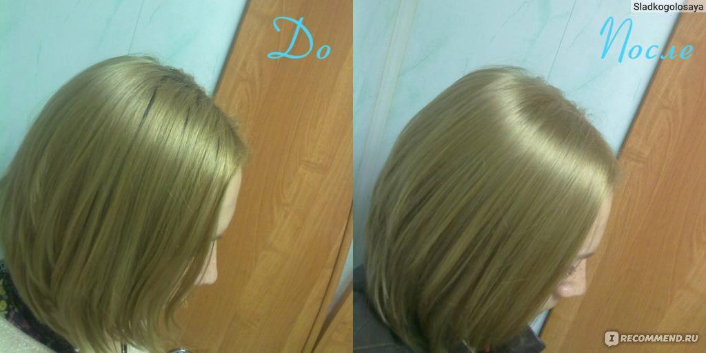 Палитра краски для волос hair natural light