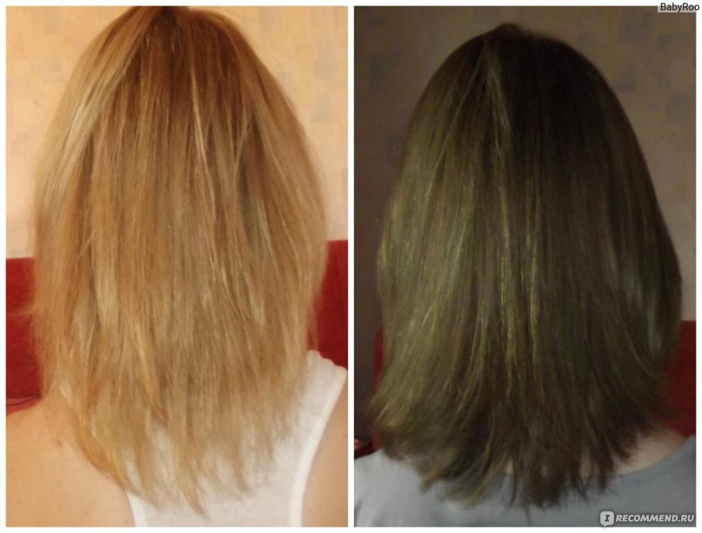 Как убрать зелень с волос после окрашивания в русый