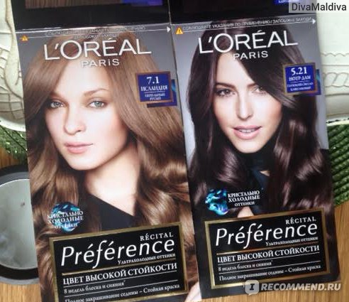Краска для волос лореаль преферанс отзывы 7.1