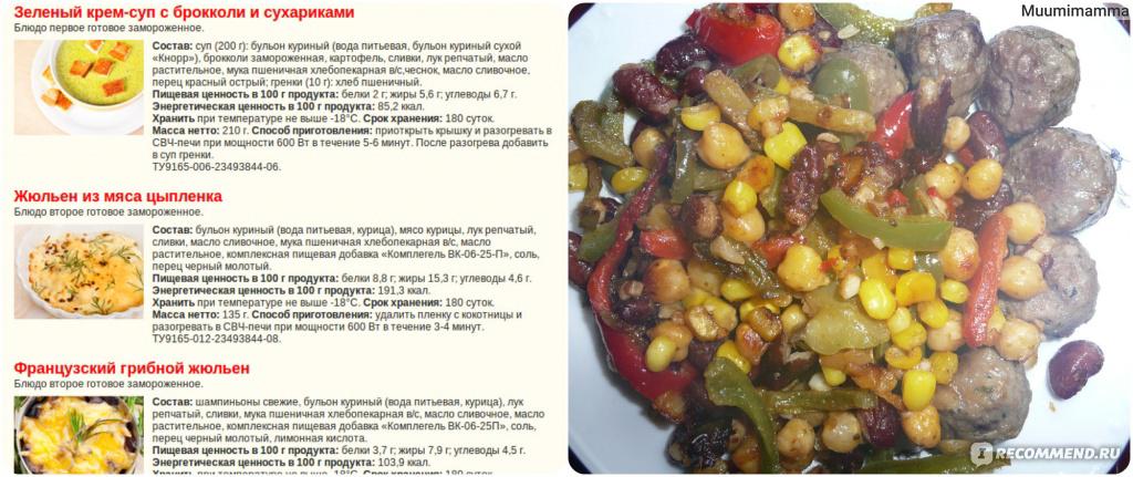 Диета Кима Протасова - рецепты блюд с фото