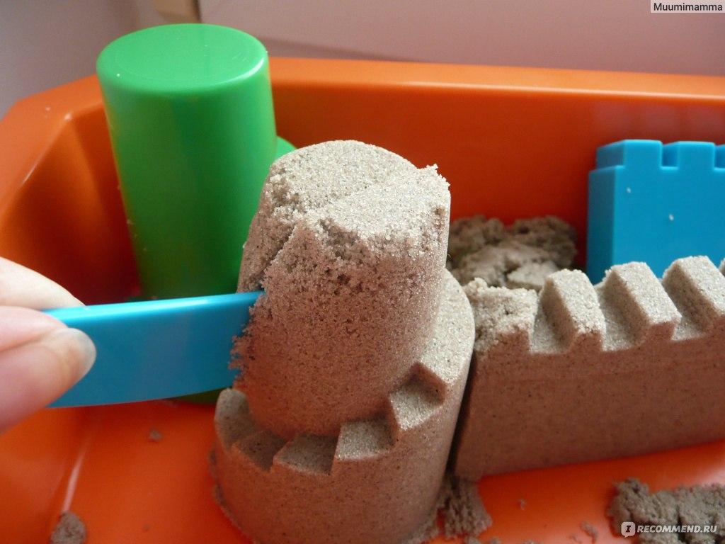 Поделки из кинетического песка фото 69