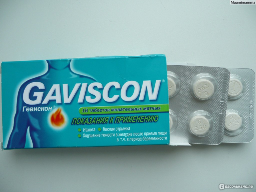 Гевискон инструкция по применению при беременности