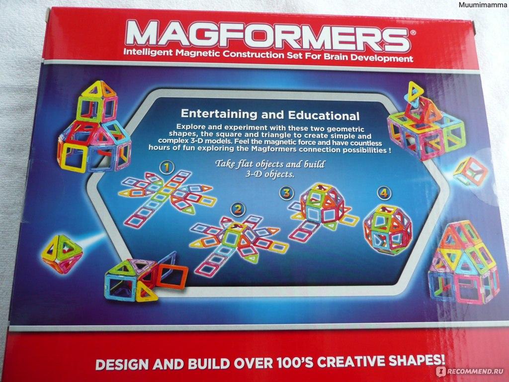 Магнитный конструктор magformers отзывы