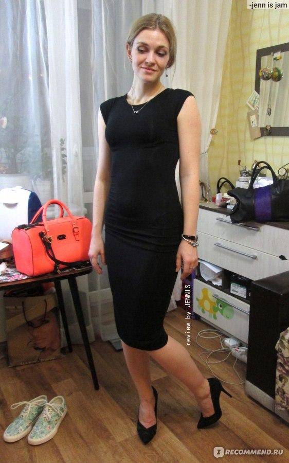 0165ebb6fe4 Платье Boohoo Petite Bodycon миди облегающее - «ПЛАТЬЕ-МАЙКА за 987 ...