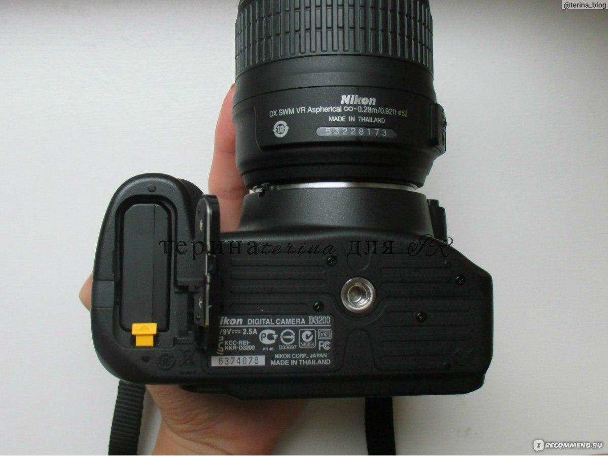 nicon d3200 инструкция