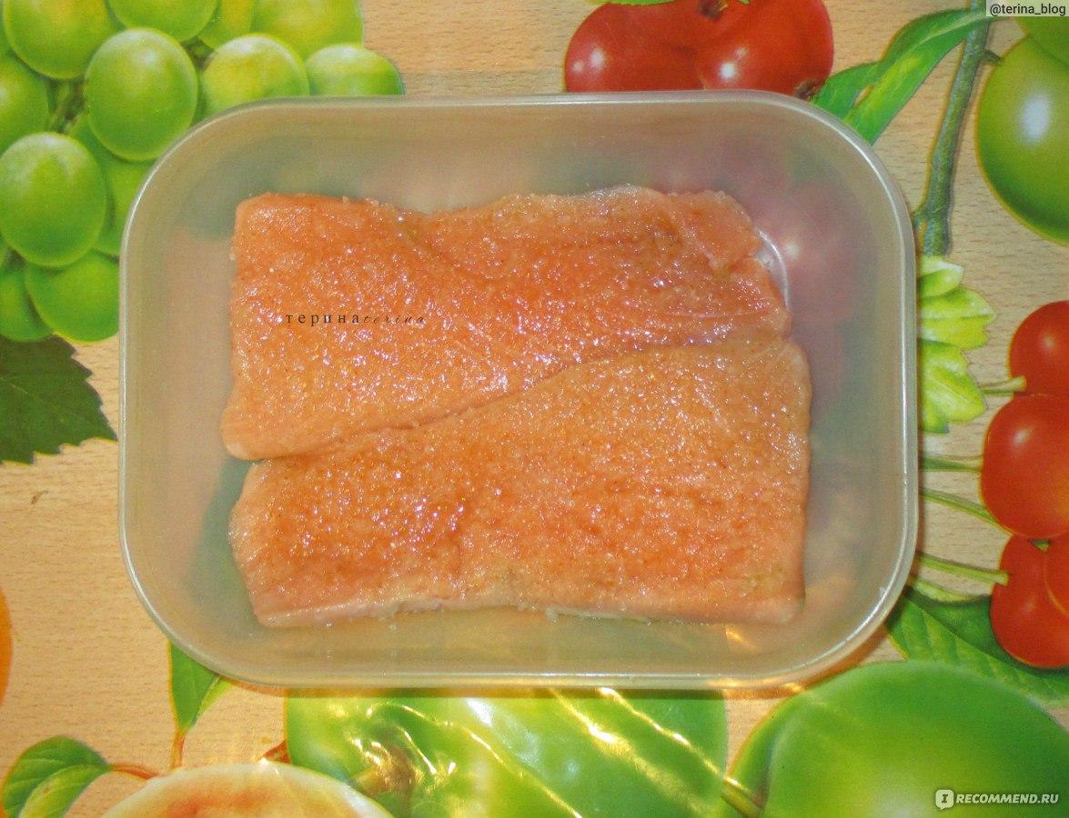 Красная рыба сочная рецепт