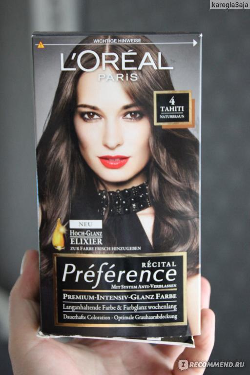 Loreal paris haarfarbe tahiti