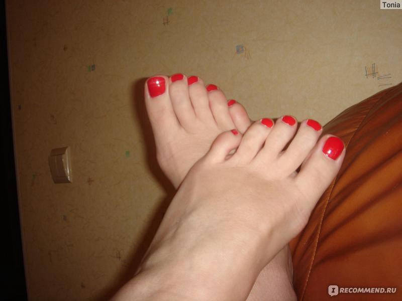Фото ногти на ногах накрасить