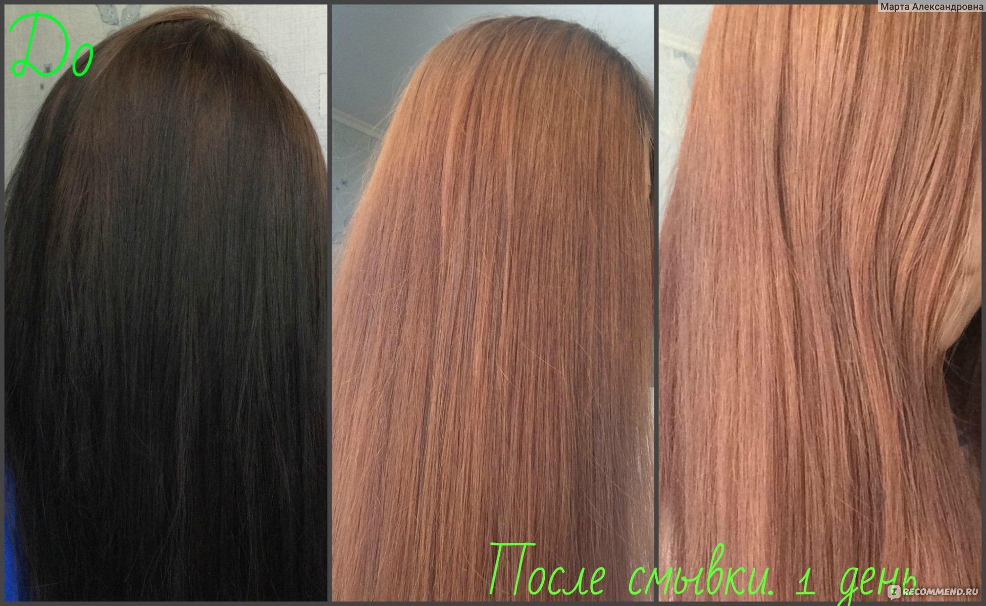 Как смыть краску с волос в домашних условиях Краски 76